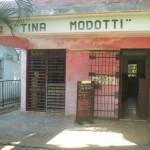 Fachada de la biblioteca Tina Modotti