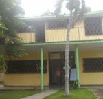 Fachada de la Biblioteca Pública Más Luz del municipio Boyeros