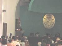 Acto por el día del Bibliotecario en el Aula Magna del Colegio Universitario San Gerónimo de La Habana