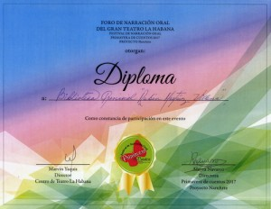 Diploma Foro Narracion Oral