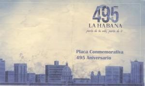 Placa_Conmemorativa_495_Aniversario_La_Habana