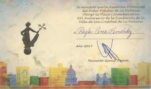 Placa_Conmemorativa_495_Aniversario_La_Habana-Regla_Perea