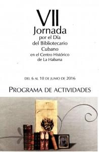 VII Jornada por el Día del Bibliotecario Cubano
