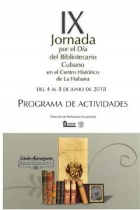 IX Jornada Día del Bibliotecario Cubano