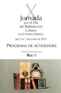 X Jornada Día del Bibliotecario Cubano