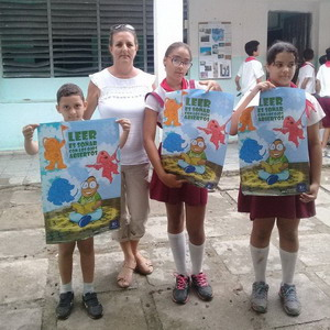 Leer es crecer-Guanabacoa