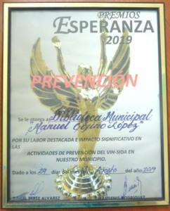 Premio Esperanza-Biblioteca Arroyo