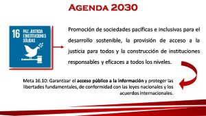 Agenda 2030 Promocion