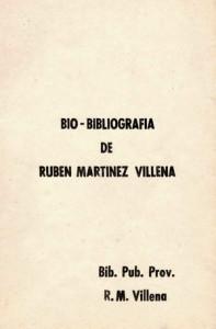 Bio-bibliografia de Villena